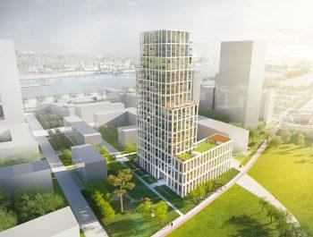 Appartementsgebouw blok 6 Nieuw Zuid (2017)